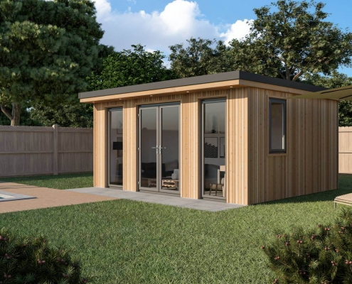 Burford Garden Room Side View